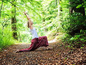 Yoga im Wald - bei Eppingen, Sternenfels